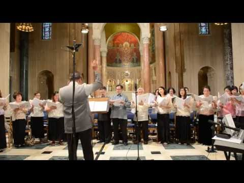 THE MUSIC OF YOUR LOVE (Birhen Ng Antipolo Choir 2015)