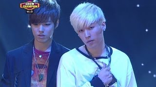 M.I.B - Nod along, 엠아이비 - 끄덕여줘, Show Champion 20130424