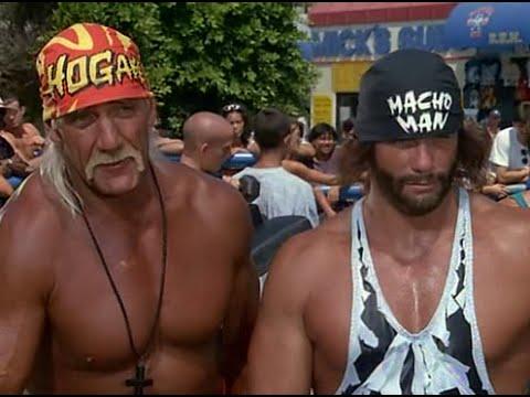 Hulk Hogan, Macho Man Randy Savage & Ric Flair on Baywatch [February 1996]