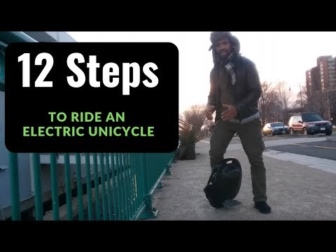 12 Steps on ***How to Ride an Electric Unicycle*** - For Absolute Beginners - Part 1