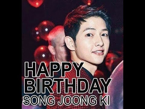 Happy Birthday to you❤ Song JOONG-Kİ 170919