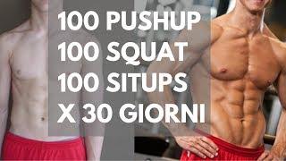 Cosa Succede al tuo Corpo se svolgi questa Routine tutti i Giorni per 30 Giorni??!!!