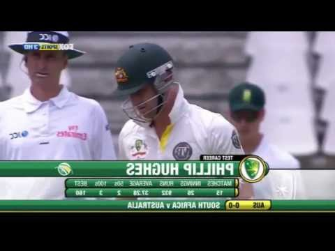 Right Handed Phillip Hughes 88 vs South Africa 2011