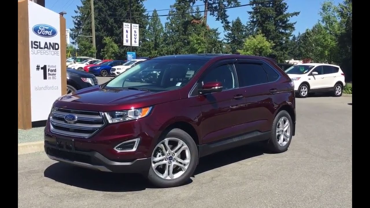 2017 ford edge titanium canadian touring ecoboost review. Black Bedroom Furniture Sets. Home Design Ideas