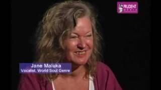 part 3/4 - JANE MALUKA live  ARTIST TALK with Nikhil Pereira Prudent Media Goa