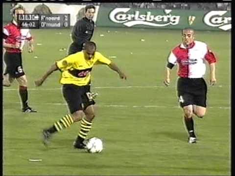 2002 May 8 Feyenoord Holland 3 Borussia Dortmund Germany 2 UEFA Cup - YouTube