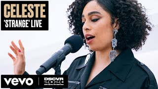 Celeste   Strange (live) | Vevo Dscvr Artists To Watch