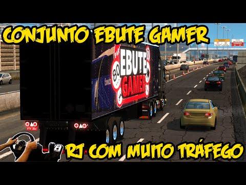 MUITO MOVIMENTO NO RJ - CONJUNTO CANAL EBUTE GAMER - RBR 3.2!!!