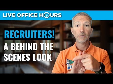 Working with Recruiters: Everything You Need to Know: Live Office Hours with Andrew LaCivita