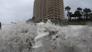 Hurricane Michael Storm Surge on Panama City Beach, FL