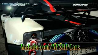 Need For Speed Hot Pursuit- Cars- Pagani Zonda Cinque Roadster