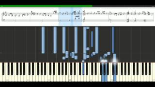 Carrie Underwood - Jesus take the wheel [Piano Tutorial] Synthesia