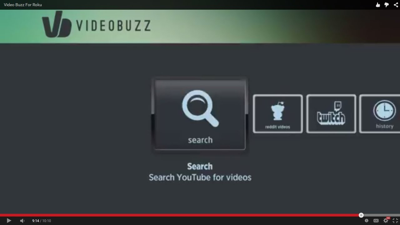 Video Buzz For Roku