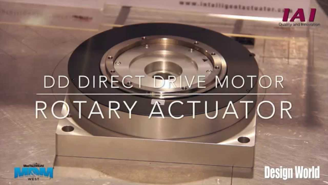 Dd direct drive motor rotary actuator by iai how it for Electric motor repair reno nv