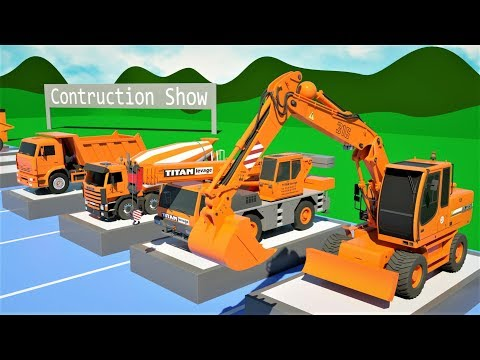 Trucks Construction Collection