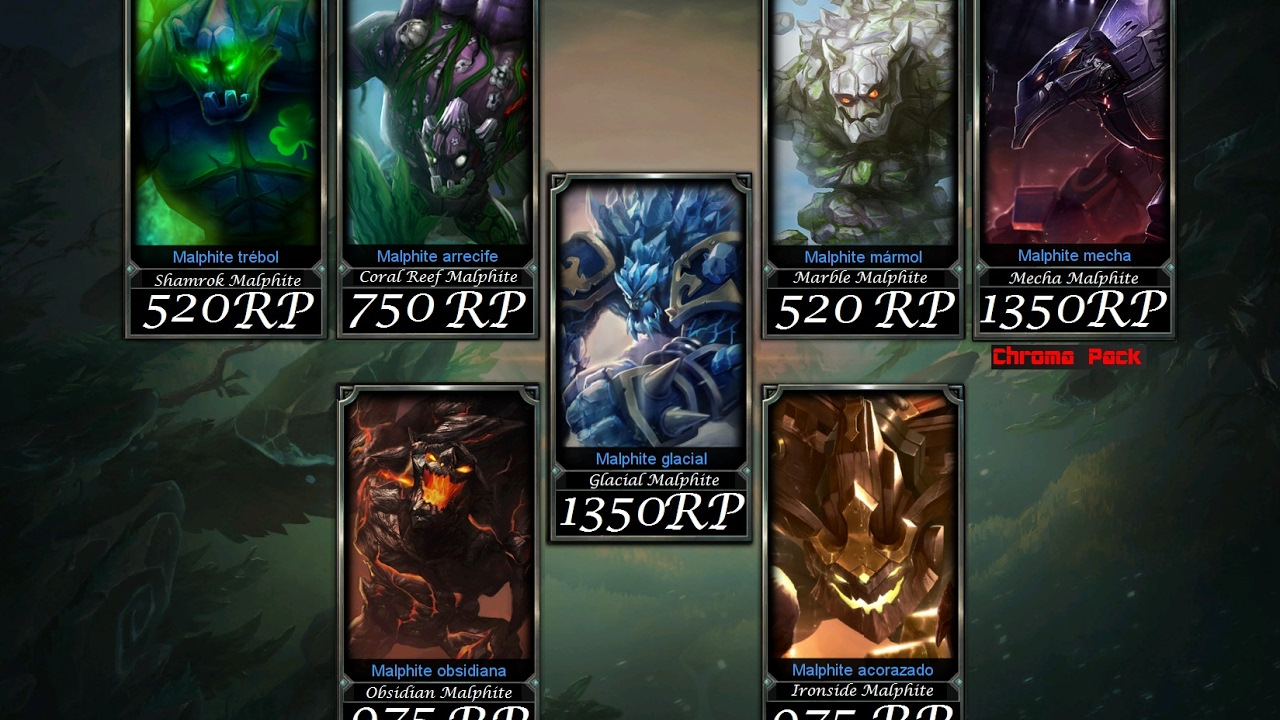 Malphite Skins  League Of Legends