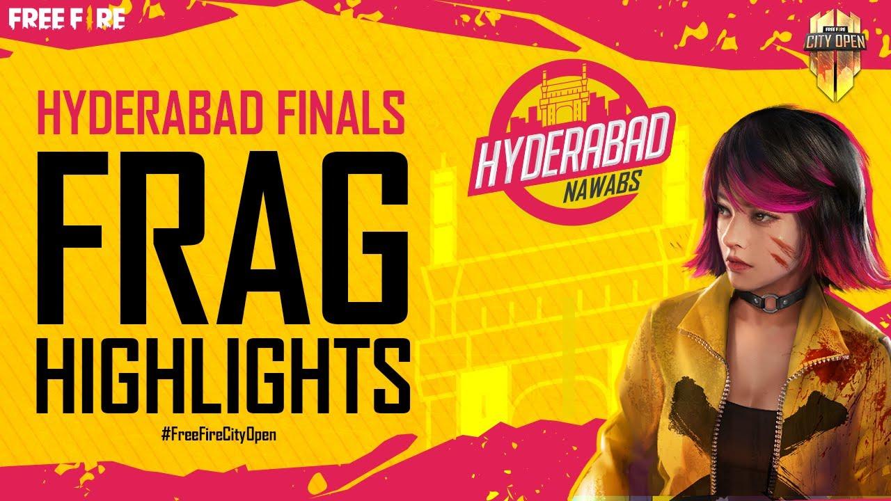 FFCO Hyderabad Finals Frag Highlights | Free Fire City Open