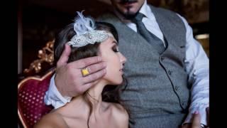 Стильная свадебная фотосессия в Киеве (The Great Gatsby)