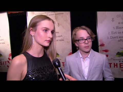 The Visit Premiere Interview - Olivia DeJonge & Ed Oxenbould