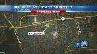 Former Salem Middle security assistant arrested, accused of having sex with minor