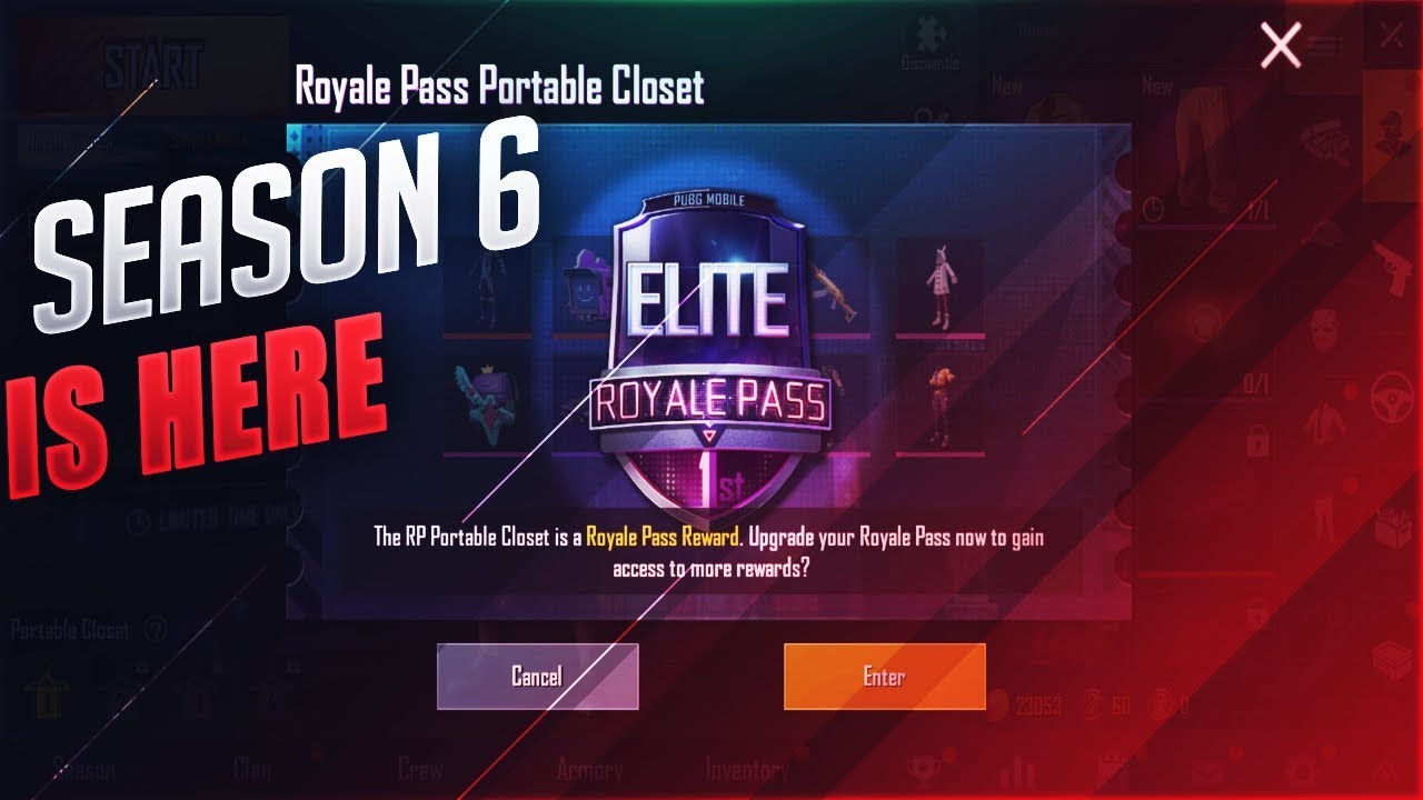 Season !   6 Royale Pass Is Here Update 0 11 5 Pubg Mobile Youtube - season6 royalepassseason6 pubgmobile