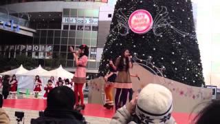 アクターズスクール広島 クリスマスライブ NTTクレド前.