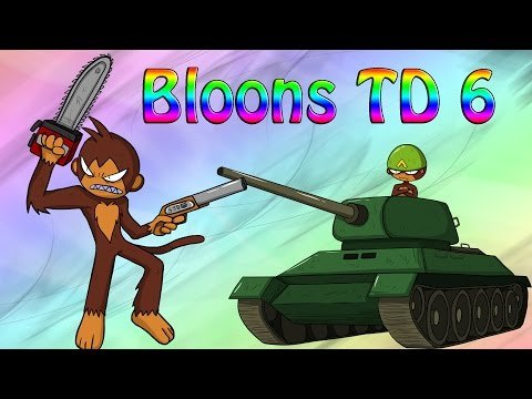Bloons TD 6 New Towers And New Bloons Ideas!