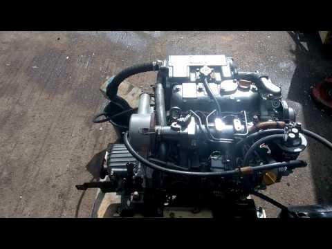 Yanmar 3JH2E 39hp Marine Diesel Engine