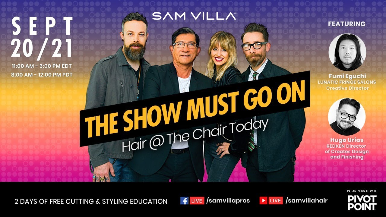 """The Show Must Go On, """"Hair @ The Chair Today"""" Day 1"""