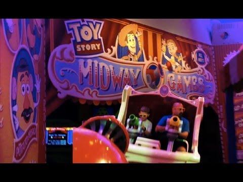Toy Story Midway Mania Ride Pov Disney S Hollywood Studios Walt
