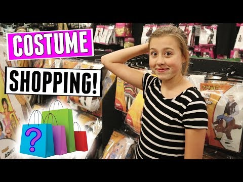 Halloween Costume Shopping For Her Middle School Dance! Teen Costumes 2018