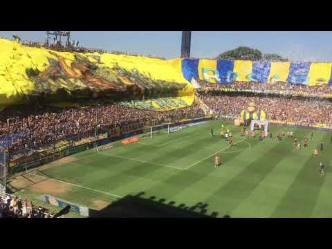 La bandera más grande del mundo Rosario Central los guerreros