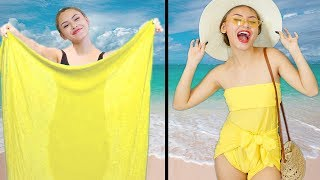 HACKS LIFE BRILLIANT SUMMER CLOTHING | DIY Life Hacks To Make You Look Feel and Perfect