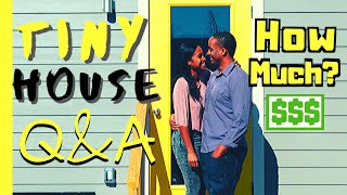 How Much Does A Tiny House Cost?   Tiny House Q&a   Living Tiny With The Bushes