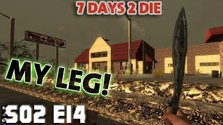 7 Days Mindcrack S02 E14 MY LEG!