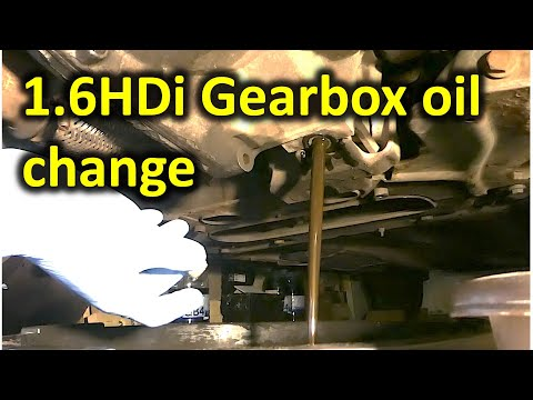 Gearbox/transmission oil change (2007