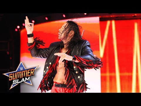 Shinsuke Nakamura's entrance wows the WWE Universe: SummerSlam 2017 WWE Network Exclusive