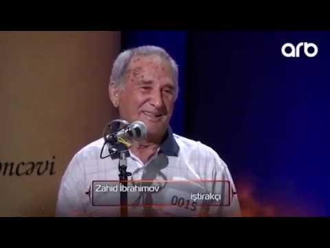Zahid Ibrahimov    Xalqin Sairi   Ilk Cxs ARB TV