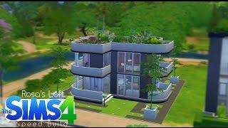 Sims 4 Speed Build - Rosa's Modern Loft