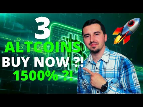 Top 3 Altcoins Ready To EXPLODE in September 2021🚀| BEST Crypto NOW 1500% ?!CRYPTO NEWS| BUY NOW?! 😱