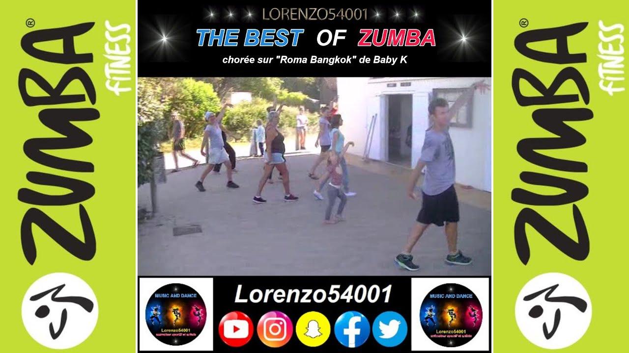 """Zumba Fitness 2016 - """"Roma Bangkok"""" de Baby K (en meilleur ..."""