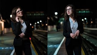 How to shoot AMAZING portraits in low light