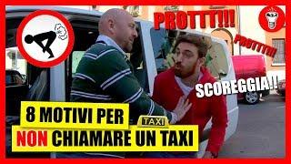 8 Motivi per NON Chiamare un Taxi - [Esperimento Sociale] - theShow