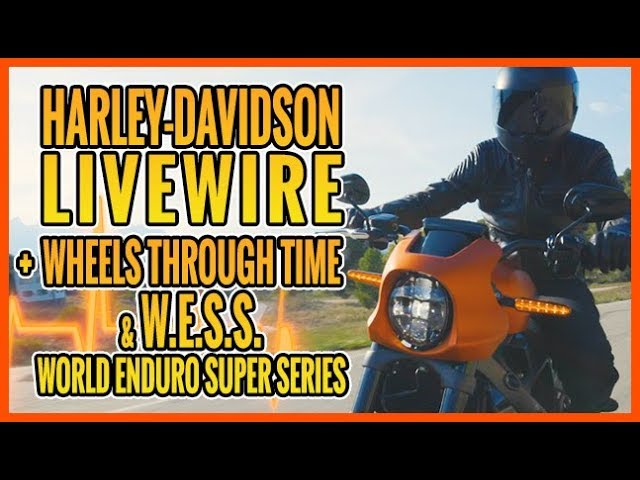 Born To Ride TV Episode 1221 - Harley-Davidson Livewire, Wheels Through Time, WESS