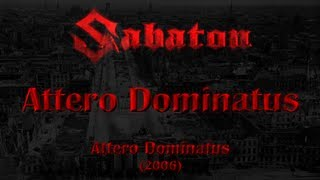 Sabaton - Attero Dominatus (Lyrics English & Deutsch)