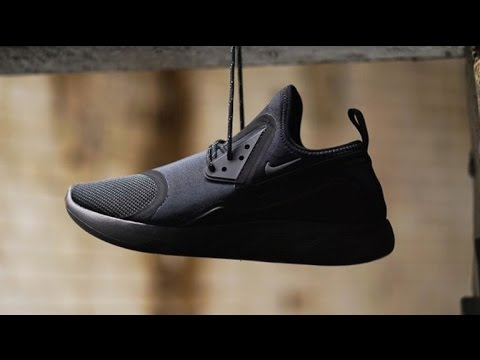 Nike Lunarcharge Triple Black Unboxing   On Foot Look - YouTube b4e5ea64ec6d6