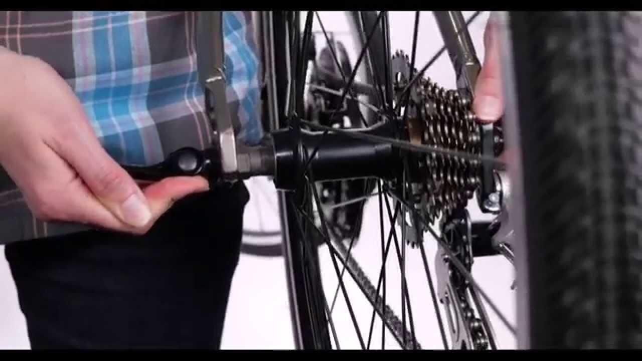 8106f8a89c9 Rear Wheel Removal & Install with Quick Release. Diamondback Bicycles
