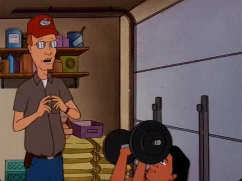 Dale Gribble tells Joseph he