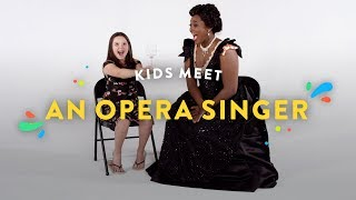 Kids Meet an Opera Singer | Kids Meet | HiHo Kids thumbnail
