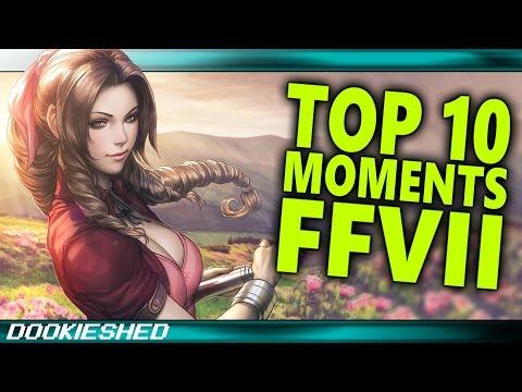 FINAL FANTASY 7 ▶ Top 10 Moments!